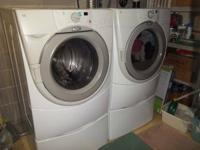 Big STACKABLE or SIDE-BY-SIDE WASHER OR GAS DRYER $375