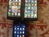 I have 2 LG ACCESS STRAIGHT TALK PHONES AND ONE HUAWEI
