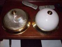 2 light fixtures for 12.00 work fine  Location: