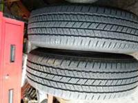 2 LIKE NEW 225 65 17 90% TREAD $100 FOR BOTH INSTALLED