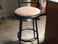 Only used for 5 months. $50 cash only for 2 stools.