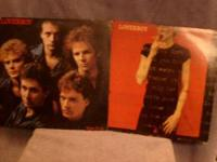 I HAVE 2 LOVERBOY RECORD ALBUMS FOR SALE. THEY ARE BOTH