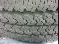 2 really thick tread tires, 16/32's is on them, made in