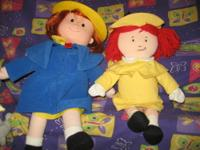 Madeline Talking Doll retail $100 PLUS Madeline Cloth