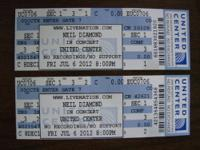 MADONNA 2012 Tour CONCERT TICKETS UNITED CENTER ?
