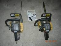 I have 2 used McCulloch chainsaws for sale & would like