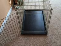 I have readily available for sale, 2 dog crates. One is