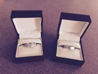 I have (2) sterling silver rings from Helzberg