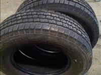 2 Michelin LT 225/75 R16 Tires 12 millimeter tread