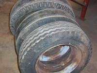 2 Used mobile home rims 6 -14 1/2 inch wide $30.00