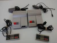 Selling 2 great working great condition Nes top loaders