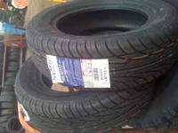 I have 2 brand new 185/65/14 tires never mounted. $140