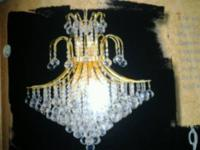 FIRST NEW CHANDELIER DIAMETER 26'' BODY LENGTH 30''