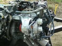 I have 2 new Mercedes Turbo Gas 4 Cylinder engines.