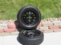 2 SEARS GUARDSMAN WITH RIMS (4 LUG HOLE PATTERN ) NEW