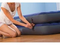 Intex Queen 2-in-1 Guest Airbed Mattress with Hand