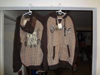N/W HOU BOTH NEW HOODIES FOR 30.00 XL LONG SLEEVE NEW