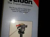 Velbon tripod Stratos 470- brand-new in box, Heavy