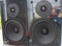 Pair of NHT Super One speakers Very Good cond NHT