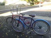 2 custom beach cruisers pic says it all If interested
