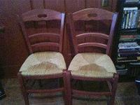 I just bought these chairs this weekend from craigslist