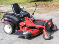i have for sale two nice riding lawn mowers, first one