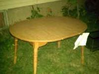 One is just the table itself with the center spacer. In