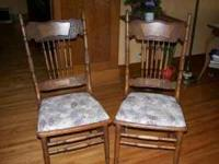 2 Nice Chairs In Good Used Condition. Call Location: