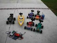 $369.00 takes it all. To much to list. 2 nitro cars w/