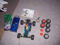 I have a Duratrax Nitro Evader and a Hot Bodies 4 wheel
