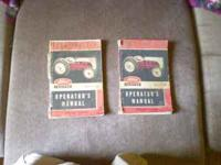 I have 2 - operators manuals for a 1950 and 1951 FORD