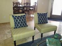 Georgeous Like New Accent Chairs (price per chair) -