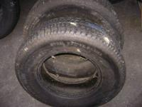 "HERE 'S ""2"" P245 / 75 R16 UNIROYAL WINTER MASTER PLUS"