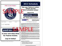 I have 2 tickets for the San Diego Padres vs. Arizona