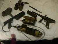 i have 2 paintball guns and lots of acc for sale i want