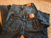 2 pair LEVI 514 children pants. Size 16. Used just a