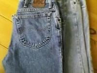For Sale: 2 Pair of Lee Jeans both are sizes 34Wx30L
