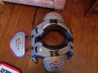 Riddell Power SPX 10i shoulder pads with Riddell Power