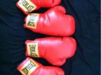 2 pairs of 14oz Everlast boxing gloves for $35 OR 1