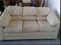 ... couch for$225. love seat not for sale if I divided.