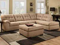 Today's price: $798   2 PC Sectional Only $798  Ottoman