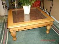 This are honey in color good condition solid wood. they