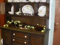 Wood China cabinet email or call . Location: Carthage