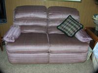 Used matching set of Recliner chair & love seat in