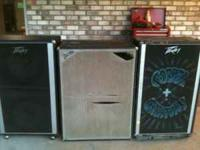 2 peavey dual 15 bass cabs. one in great shape and one