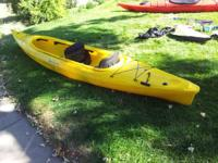 I have 2 Perception kayaks for sale. The red one is a