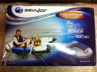 brand new 2 person inflatable boat. never been opened.