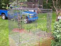 SElling some cages 1 Pet Taxi for $20 Inside measures