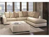 I have a 10ft 2pc sectional from Albany Furniture. It