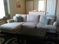 This is a Maxx furniture 2 piece sectional with chaise.